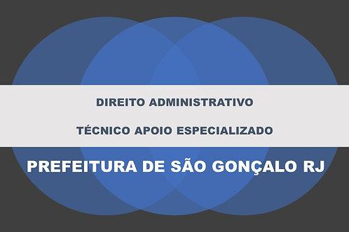 Direito Administrativo São Gonçalo Técnico Apoio Especializado