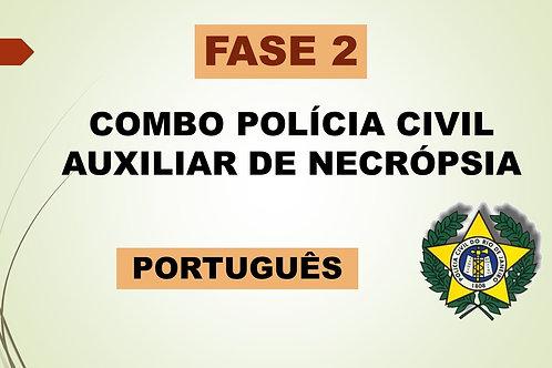 Português Fase 2 Auxiliar de Necrópsia