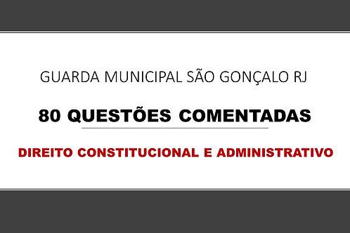 Direito Constitucional e administrativo Guarda São Gonçalo RJ