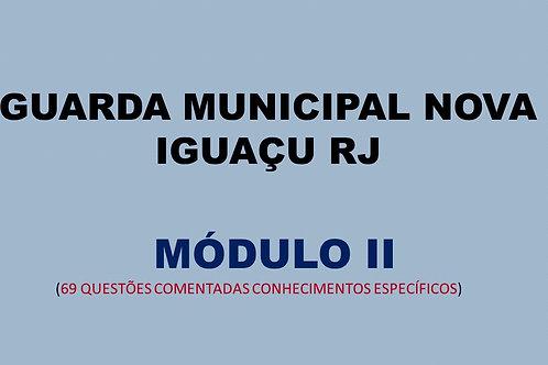 MÓDULO II GUARDA MUNICIPAL NOVA IGUAÇU RJ