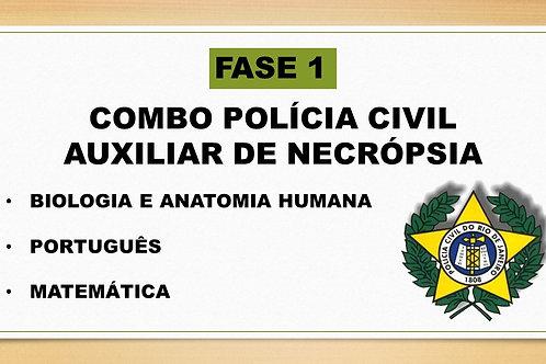 Combo Auxiliar de Necrópsia FASE 1