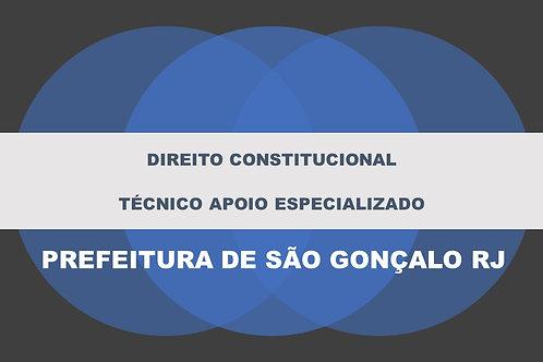 Direito Constitucional São Gonçalo Apoio Técnico Especializado
