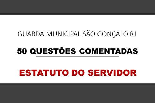 ESTATUTO SERVIDOR SÃO GONÇALO RJ