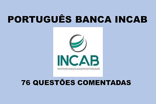 Português só da Banca INCAB