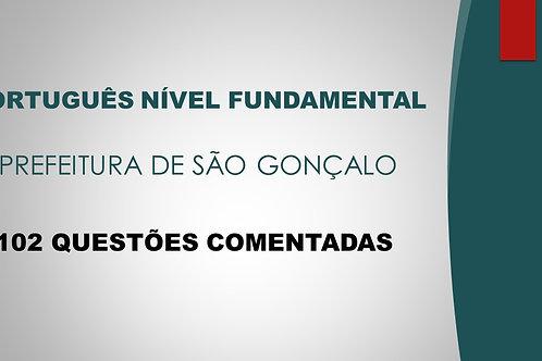 PORTUGUÊS NÍVEL FUNDAMENTAL SÃO GONÇALO