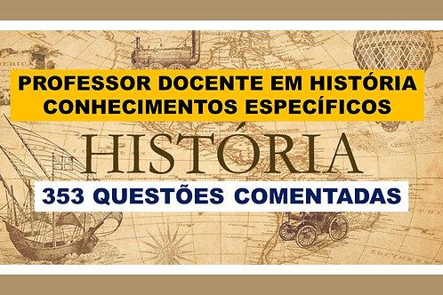 Conhecimentos Específicos Professor de História