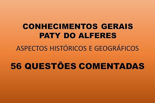 CONHECIMENTOS GERAIS PATY DO ALFERES