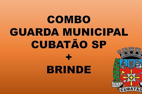 Combo + brinde Guarda Municipal Cubatão SP