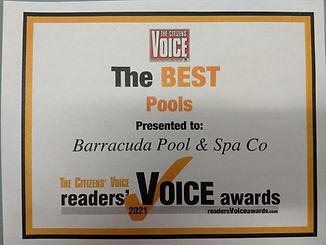 voted best pools