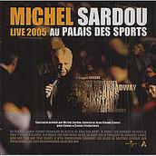 MICHEL SARDOU Palais des sports live CD+DVD 2005