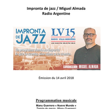 Impronta de Jazz, Miguel Almada