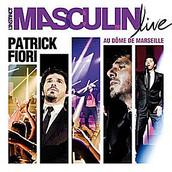 PATRICK FIORI L'instinct masculin Live CD+DVD 2011