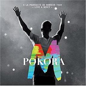 M POKORA A la poursuite du bonheur live CD+DVD 2013