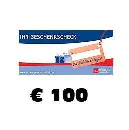 Geschenkscheck € 100