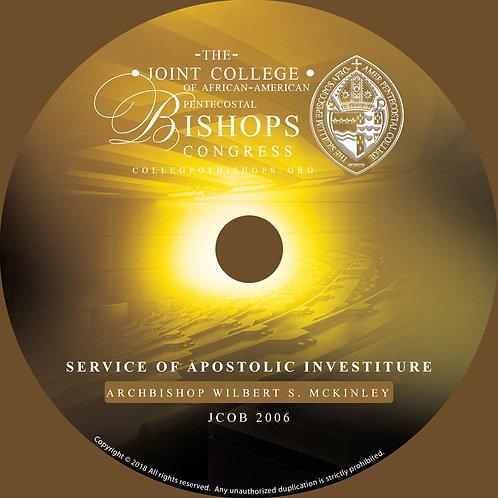 JCOB 2006 | Service of Apostolic Investiture | Archbishop Wilbert S. McKinley