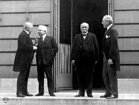 Consequences of World War I: the Paris Peace Conference & the Russian Revolutions of 1917