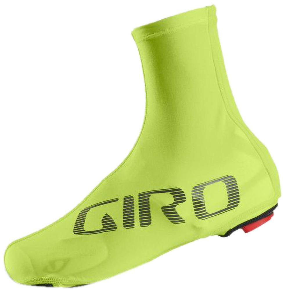 Giro neon shoe covers