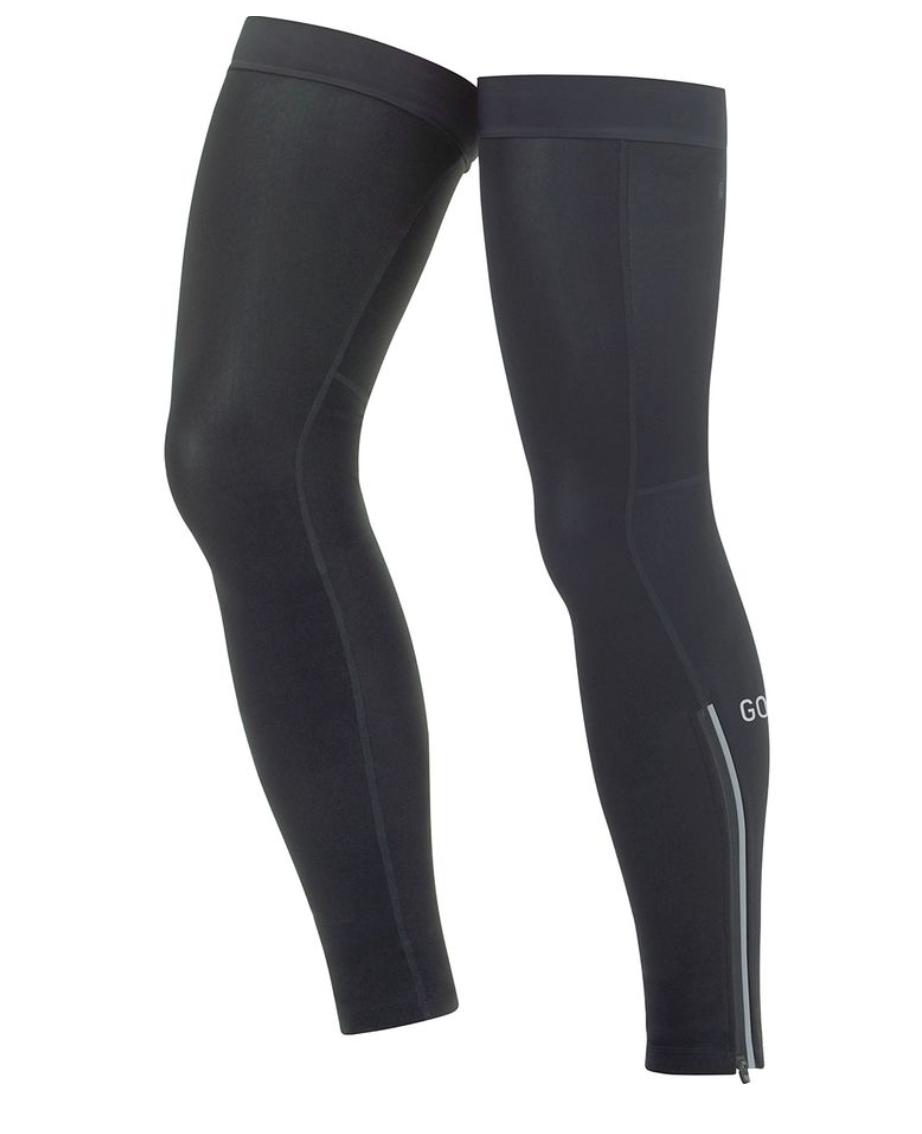Black leg covers