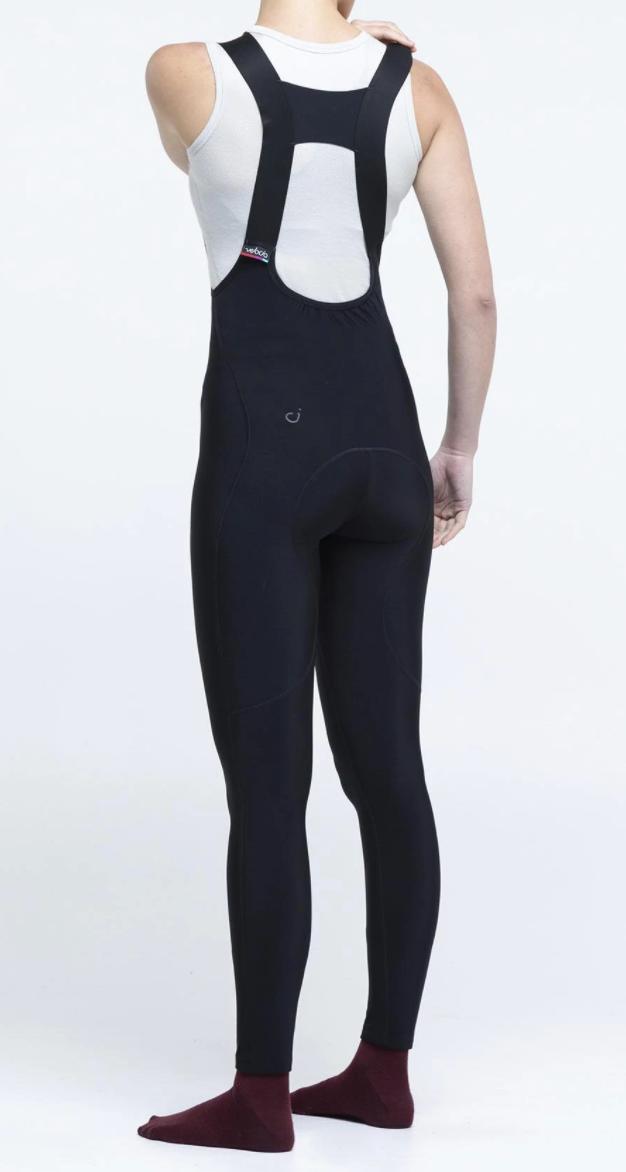 Women wearing long cycling pants