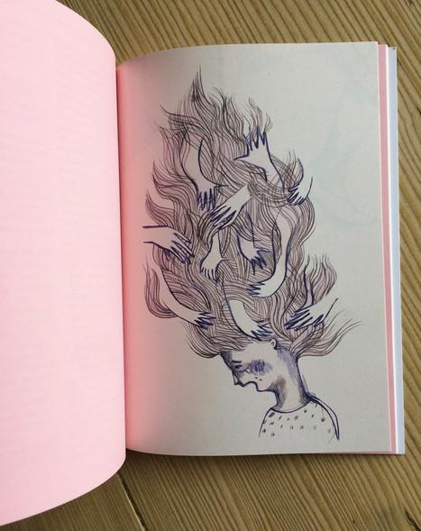 Illustrationen für das Frauenhaus.