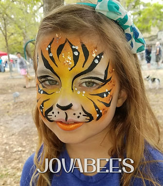 Tigeress Face Paint JOVABEES