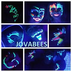 JOVABEES Glow Paint UV-Reactive