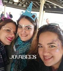 Glitter Eyes Festival Face Paint JOVABEES