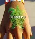 JOVABEES Glitter Tattoo Turtle