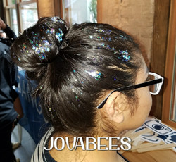 GH Glitter in Black Hair looks so pretty JOVABEES