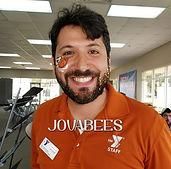 JOVABEES Glitter Beard & Basketball Face Paint