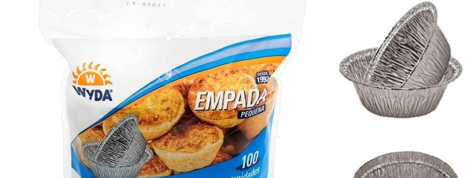 FORMA EMPADA ALUMINIO MOLDADA - 45 ML WYDA