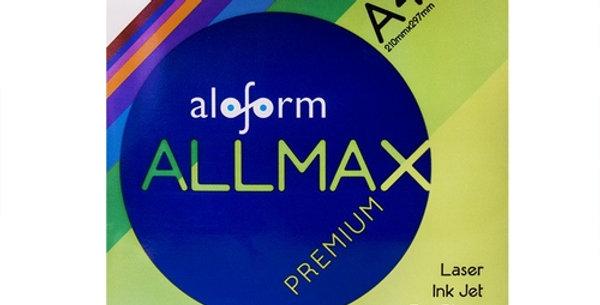 PAPEL SULFITE A4 ALLMAX PREMIUM 210X297 C/500F