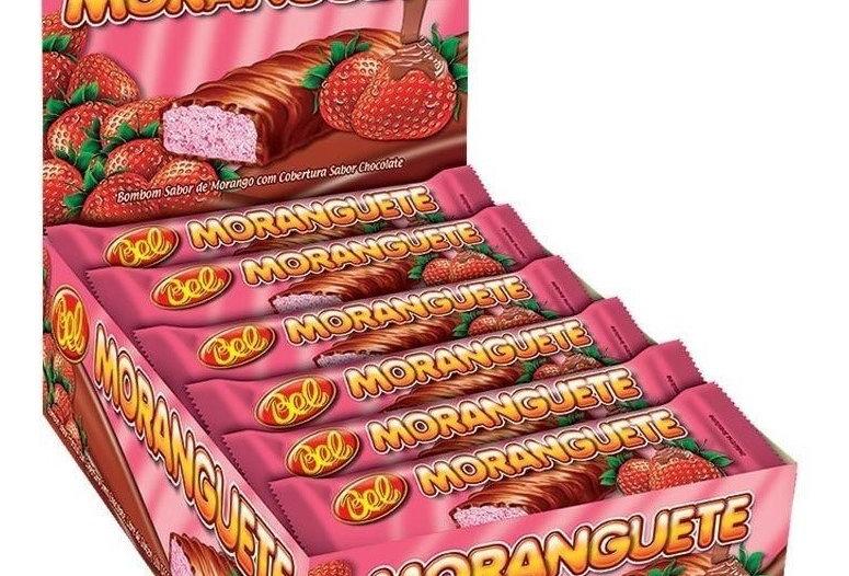 CHOCOLATE MORANGUETE 25GR BEL