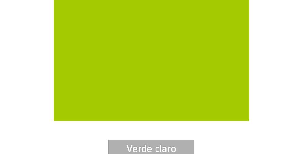 PLACA EVA COLOR 40CMX60CM VERDE CLARO LEOARTE