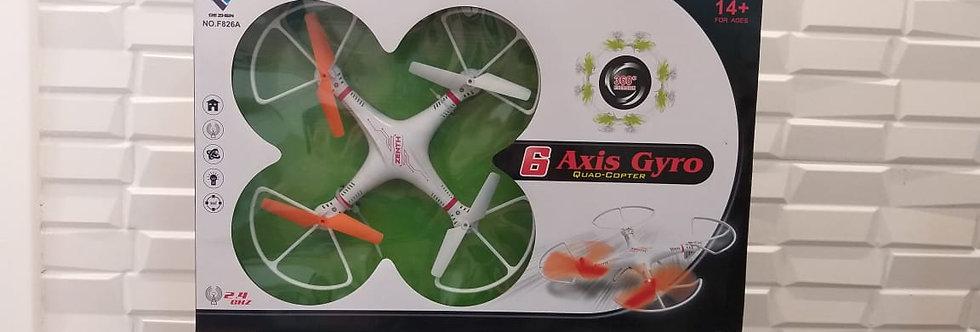 DRONE - QUADRICOPTERO C/ CONTROLE REMOTO