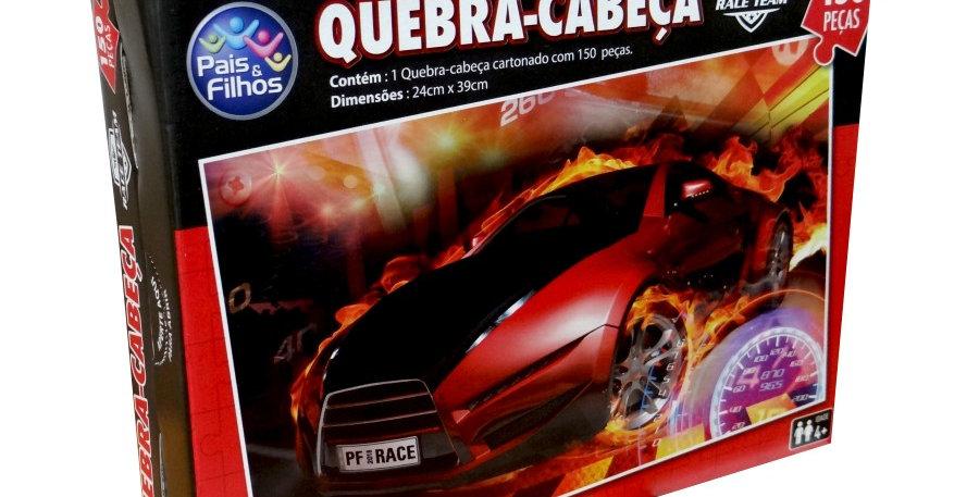 QUEBRA CABEÇA RACE 150 PEÇAS PAIS E FILHOS
