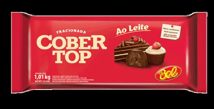 CHOCOLATE COBERTOP BARRA AO LEITE 1KG BEL