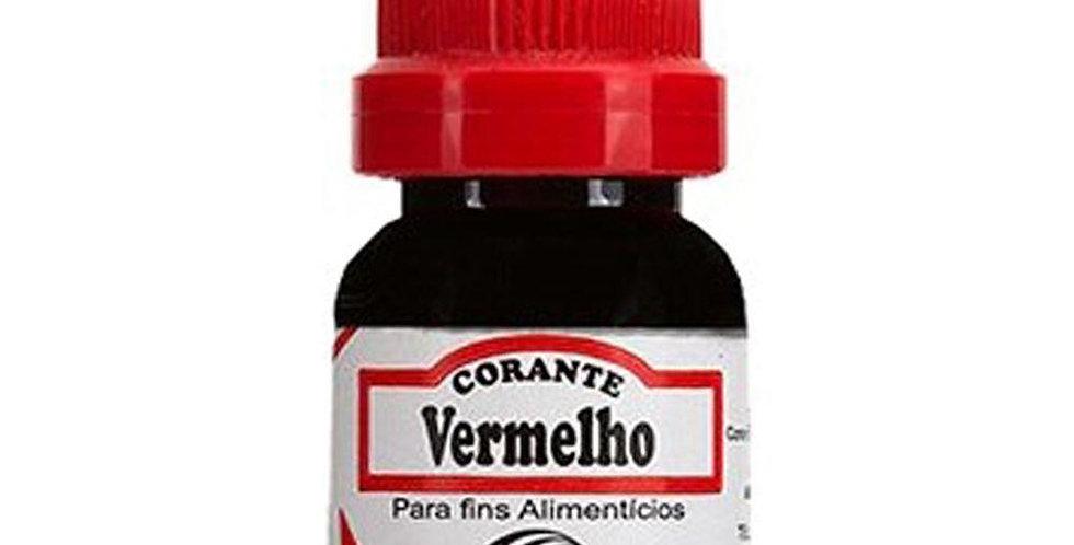 CORANTE VERMELHO FRASCO 10ML ARCOLOR