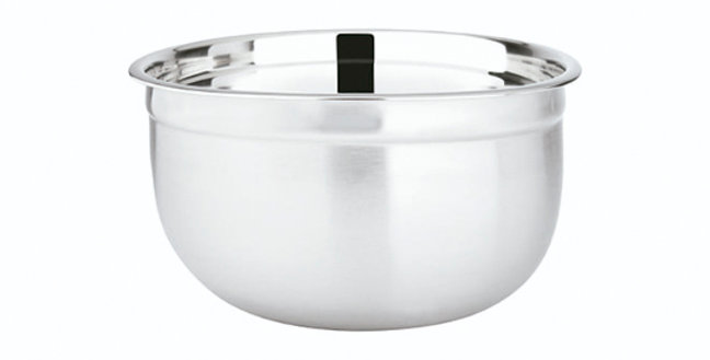 TIGELA DE INOX REDONDA GERMAN BOWL HAUSKRAFT 675ML 14CM DE Ø
