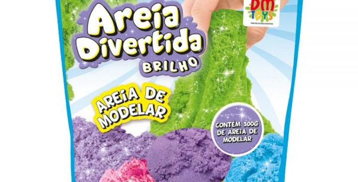 AREIA DIVERTIDA BRILHO REFIL 300G