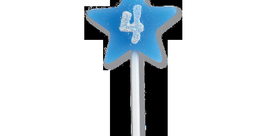 VELA STAR CITRUS AZUL N 4 FESTCOLOR