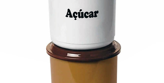 POTE DE PLASTICO PARA CAFE / ACUCAR 2 PCS 2000ML