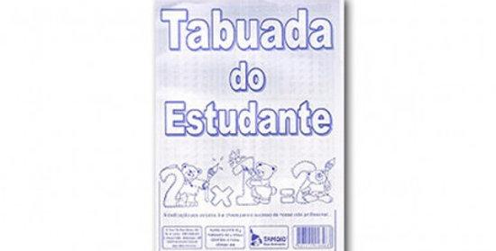 TABUADA 16 FORMAS 10 FLS TAMOIO