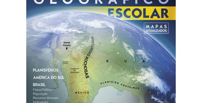 LIVRO ATLAS ESC. GEOGRAFICO TODO(E)