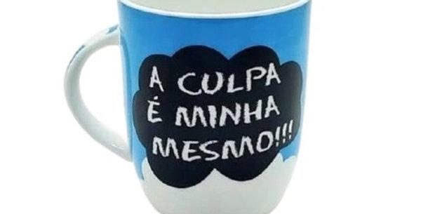 CANECA A CULPA É MINHA MESMO CERAMICA 400ML