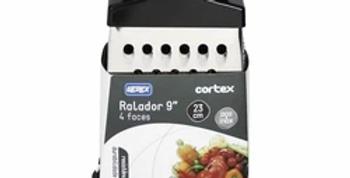 INOX RALADOR 4 FACES C/ PEGADOR PRETO/BRANCO 9,3``