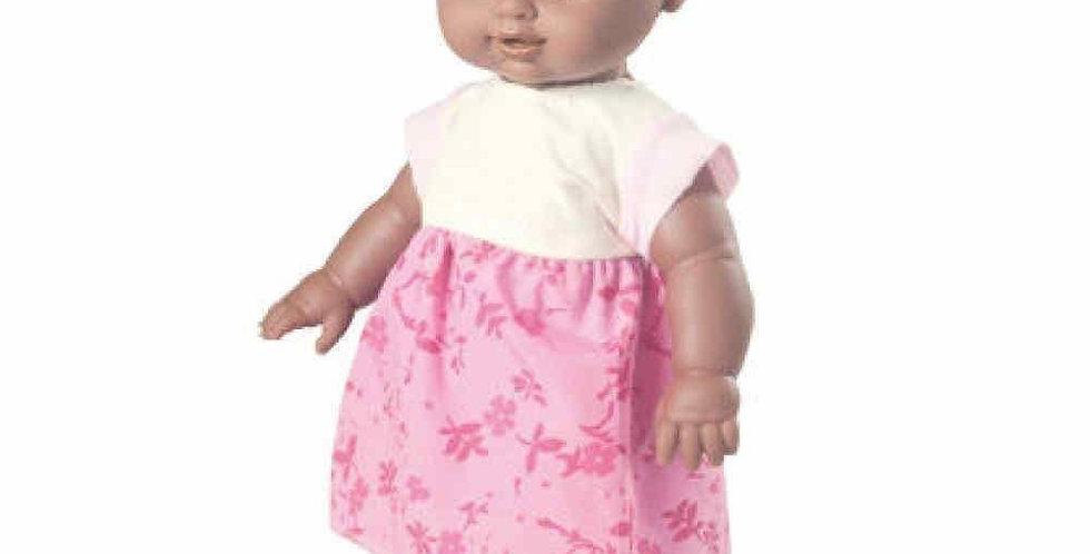 BONECA YUQUINHA BABY NEGRA 33CM