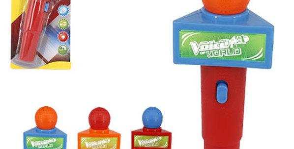 MICROFONE VOICE WORLD CART
