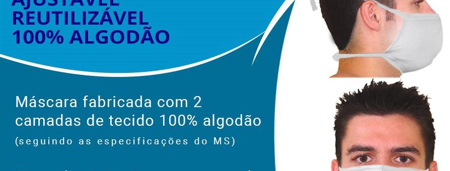 MÁSCARA PROTEÇÃO COVID-19