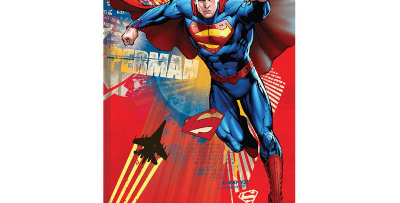 CADERNO BROCHURAO 96FLS SUPERMAN